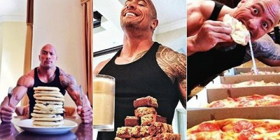 The Rock er kendt for sine legendariske cheatmeals